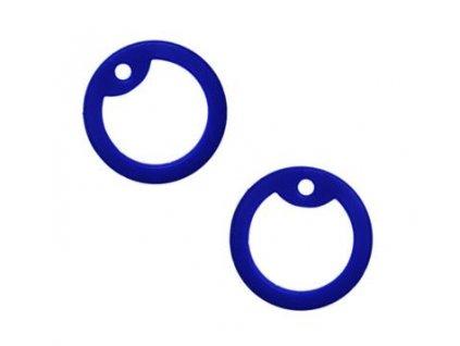 Gumička (tlumítka) silikonová k U.S. DOG TAGS tmavě modrá 1ks