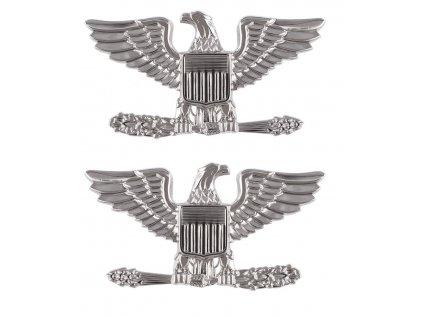 Odznak U.S. Army Plukovník (Colonel) 2 kusy 1 pár