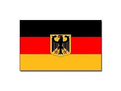 Praporek velký Německo s orlicí (60 x 90 cm)