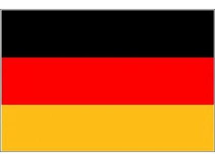 Praporek velký Německo (60 x 90 cm)
