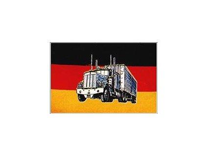 Vlajka 90x150cm Německo kamion č.83