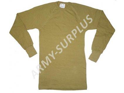 Termo tričko (triko) Holandsko dlouhý rukáv zánovní