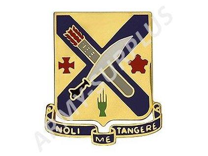 Odznak (pins) U.S. Army 2nd Infantry Regiment Unit