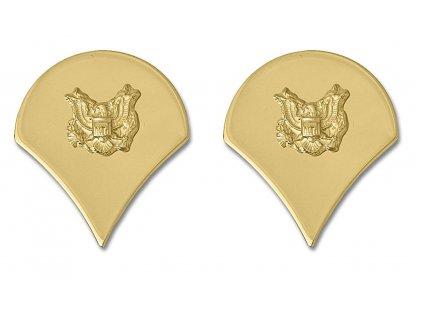 Odznak US specialista SP4 zlatý 1pár
