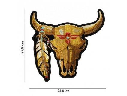 Nášivka nažehlovací Bull velká 27,9 x 28,9 cm