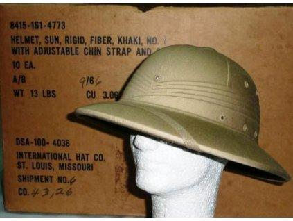 Helma tropická (klobouk, přilba) US ARMY Vietnam originál