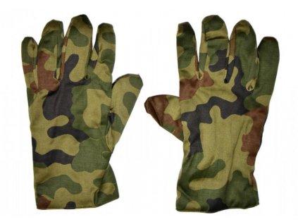 Zimní rukavice Polsko WP wz.93 612/MON pětiprsté originál