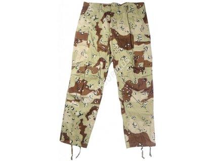 Kalhoty BDU US desert 6-color originál nové