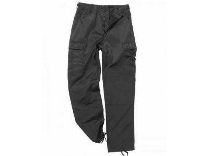 Kalhoty černé kapsáče BDU