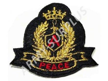 Nášivka Peace nažehlovací