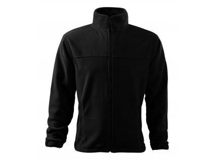 Mikina fleece Security černá