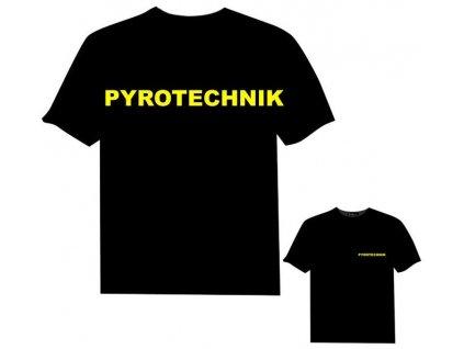 Tričko (triko) potisk pyrotechnik