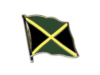 Odznak (pins)  20mm praporek Jamajka
