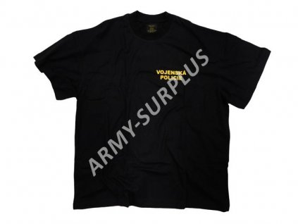 6ca9107a630 Triko potisk Vojenská Policie (Nátělník VP krátký rukáv) černé