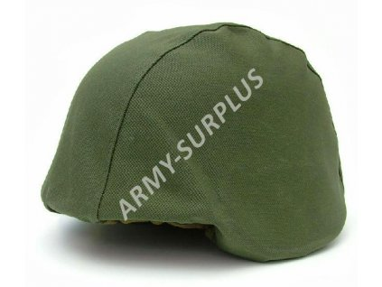 Potah (povlak,obal,převlek) na kevlarovou helmu CZ - oliv