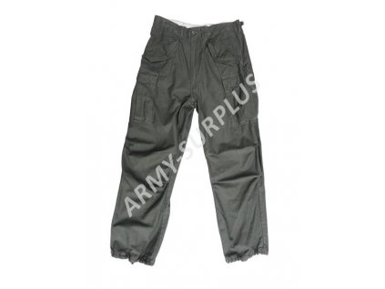Kalhoty US M65 předeprané MMB oliv