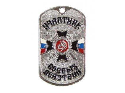 Ruské identifikační známky ID Dog Tags č.27