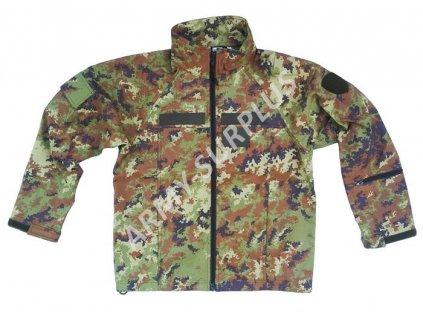 Bunda vegetato Itálie (Esercito Italiano) softshell originál