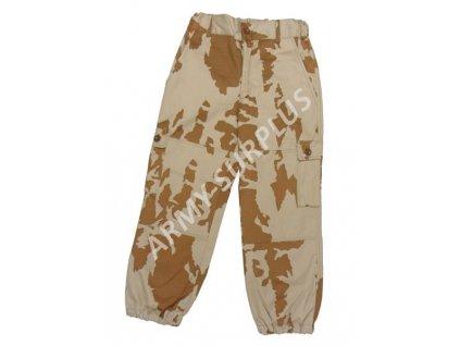 Kalhoty vz.95 AČR béžový potisk desert dětské