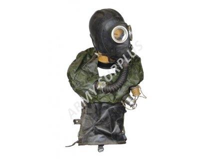 Plynová maska IP5 záchranná pro posádku tanku Rusko IP-5 černá