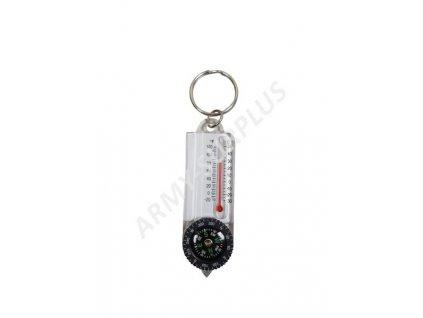 Kompas s teploměrem Albainox 33109