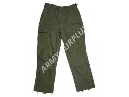 Kalhoty US Vietnam Poplin Rip Stop oliv OG-107 originál