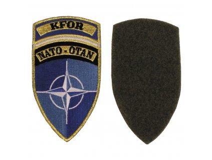 Nášivka NATO OTAN KFOR camo originál velcro