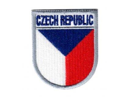Nášivka AČR CZECH REPUBLIC česká vlajka CZ pilot