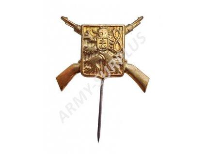 Odbojový odznak s puškami ČSLA originál nový