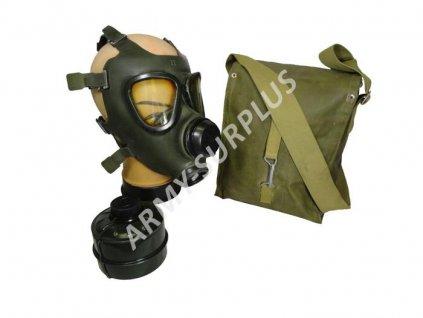 Plynová maska M-74 Saúdská Arábie zelená