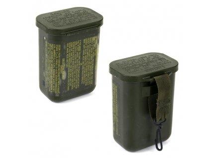 Dekontaminační box US vodotěsný oliv (vodotěsná krabička ) originál
