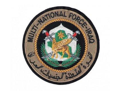 Nášivka MULTI-NATIONAL FORCE-IRAQ