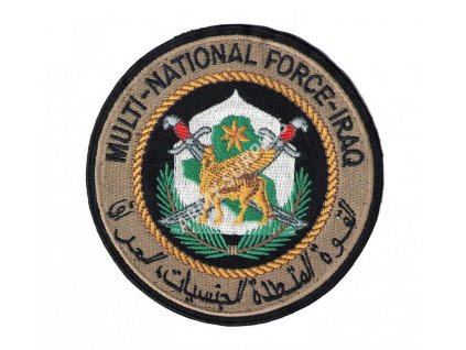 Nášivka MULTI-NATIONAL FORCE-IRAQ