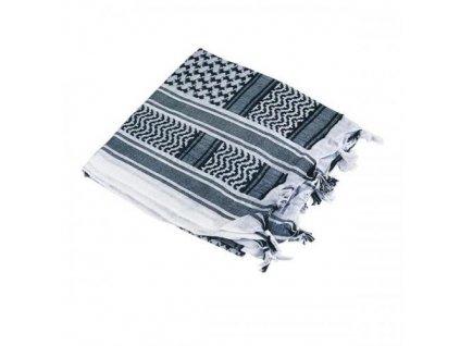 Šátek palestina bílá/černá (shemagh, arafat)