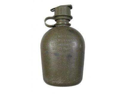 Čutora (polní láhev) holá US originál oliv s ventilem na masku