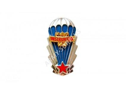Odznak výsadkář instruktor ČSLA výkonostní