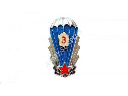 Odznak výsadkář 3 ČSLA výkonostní