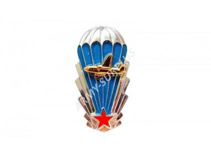 Odznak výsadkář letadlo ČSLA výkonostní