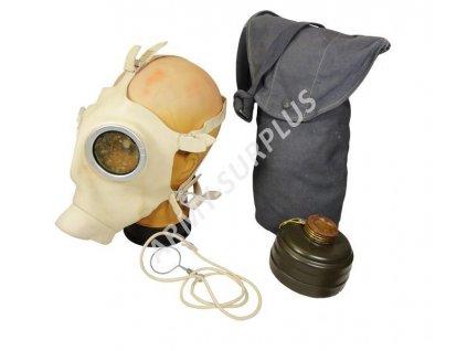 Plynová maska Z-56 Dräger zdravotnická Německo Z56