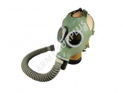 Plynová maska Faser ML 1969 vrapová hadice potažená látkou