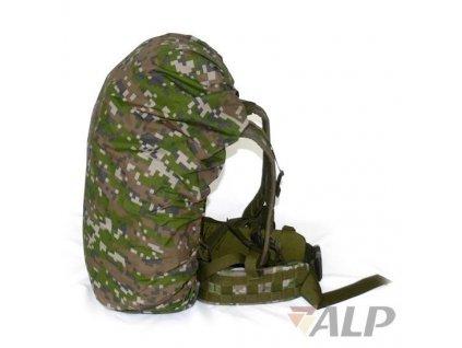 Maskovací (povlak,obal,převlek) letní na batoh 30l, SK digital les ALP