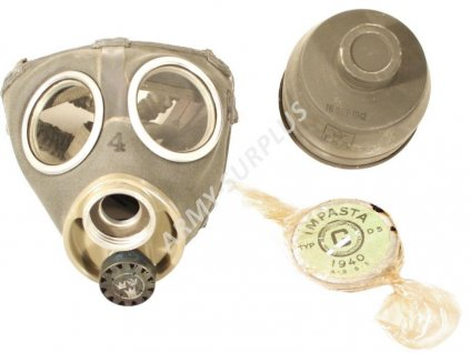 Plynová maska M36 Garanti Typ 12 Švédsko