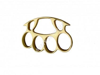 Boxer zlatý široký 10mm