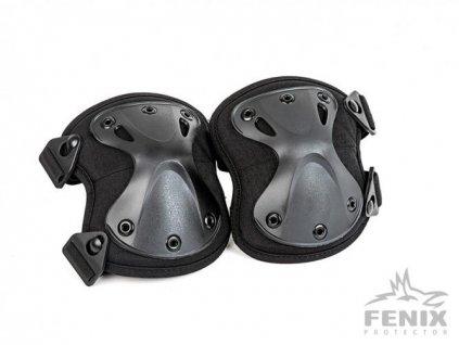 Chrániče kolen Kolenní chrániče černé ALP FENIX AC-134