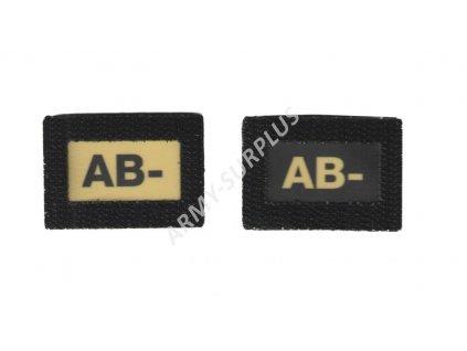 AB- Glind tape - označení krevní skupiny  ALP FENIX AC-139 velcro suchý zip