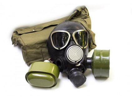 Plynová maska Rusko GP7-WM