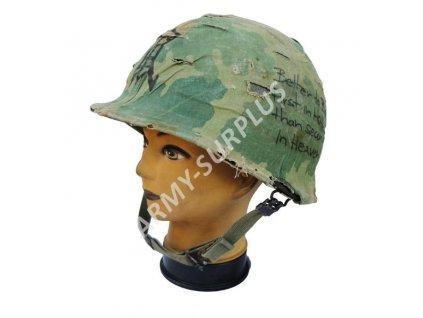 Helma (přilba) US ARMY M1 Mitchell originál Vietnam