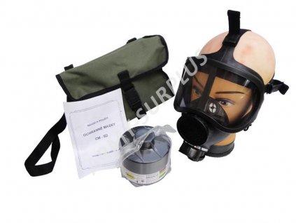 Plynová maska CM-5D (CM5D)