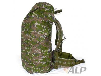 Maskovací (povlak,obal,převlek) na batoh 60l, SK digital les ALP