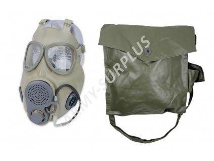 Plynová maska ABC M10/M NVA DDR Německo
